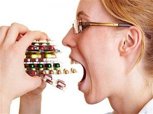 مصرف زیاد دارو