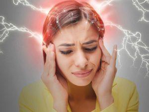 تشدید سردرد میگرنی