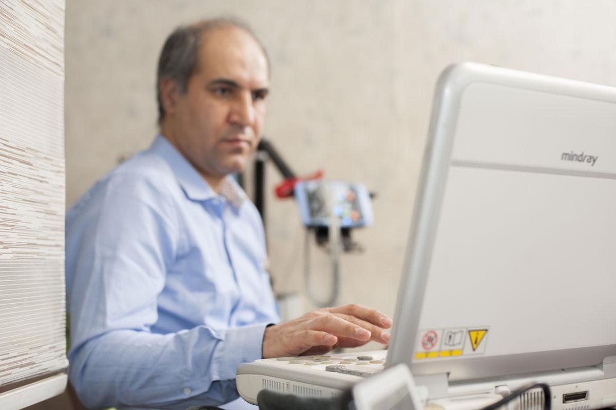 سونوگرافی داپلر در مطب دکتر کیهانی فرد