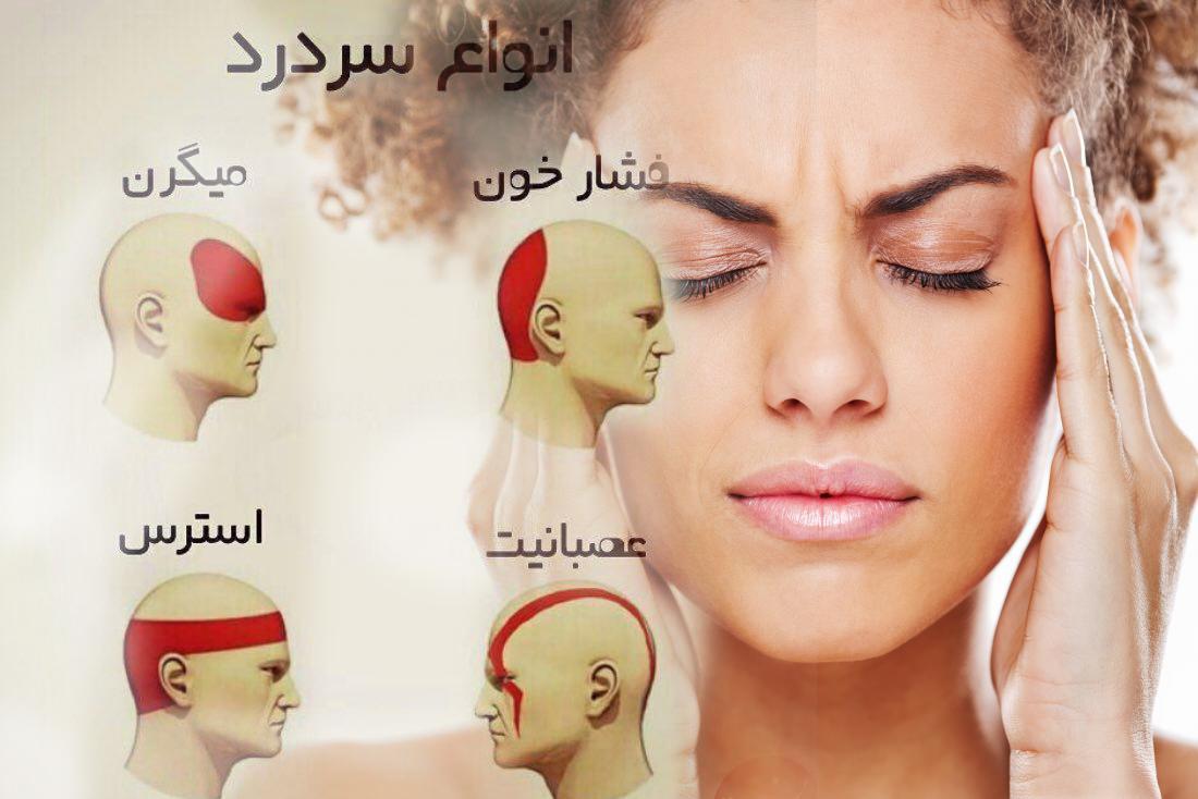 چگونه سردرد خود را درمان کنم ( درمان سردرد )